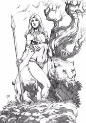 Jungle Girl by Deilson