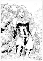 Psylocke by Deilson