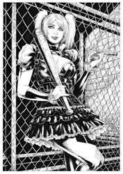 Harley Quinn by Deilson