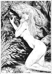 Nina ( Ed benes's character) by Deilson