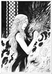 Daenerys by Deilson