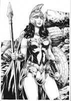 Wonder Woman by Deilson