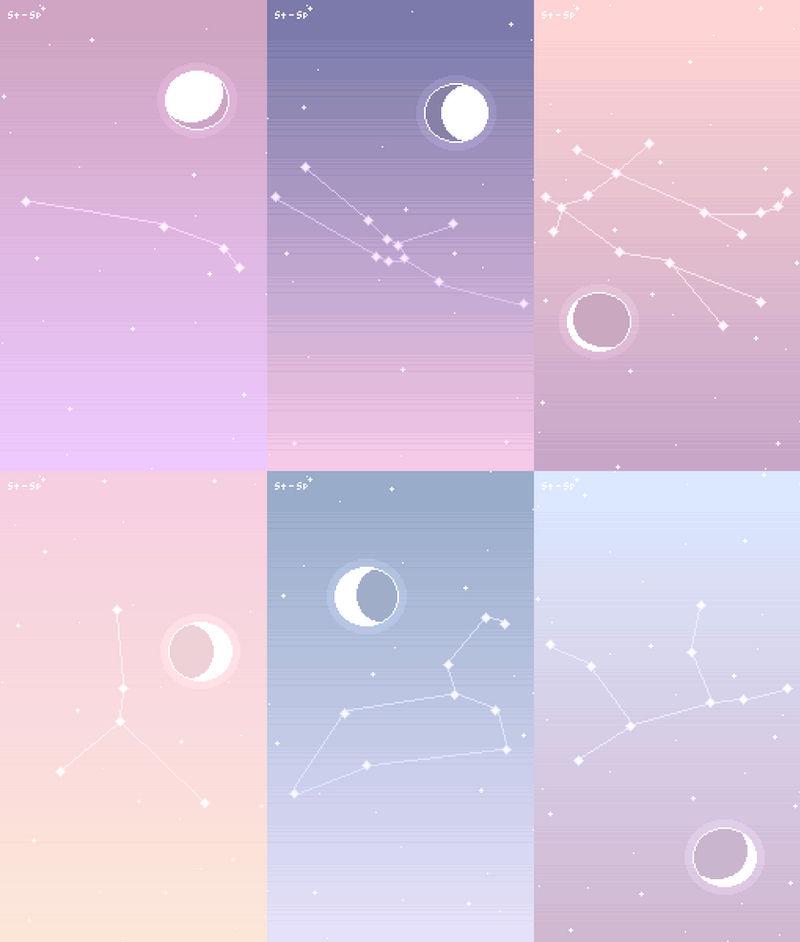 zodiac constellation wallpaper pack no  1 by stardust specks dcitiu1