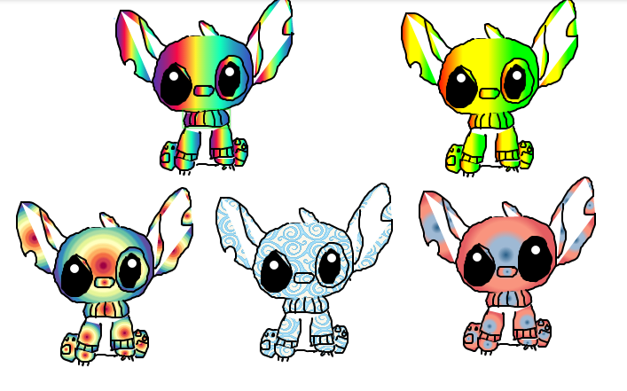 cute stitch adopts (open) by Silverheart404
