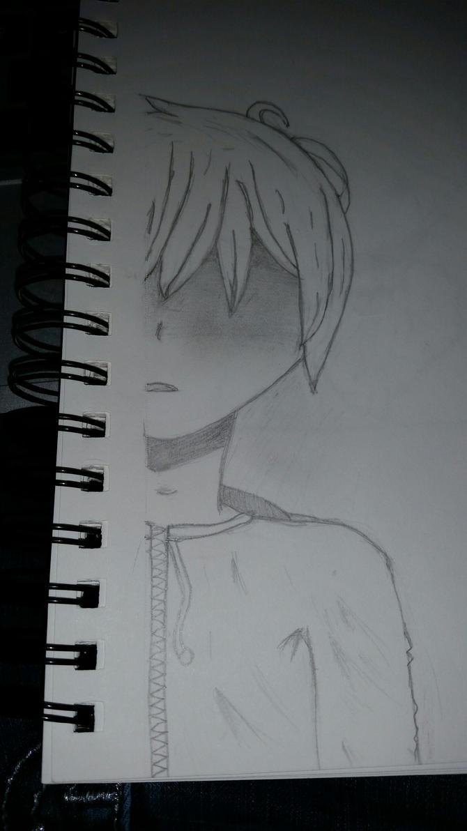 Anime Boy by Silverheart404