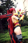 Erza Scarlet (Fairy Tail) cosplay