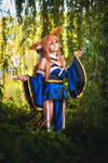 Tamamo no Mae (Fate/Grand Order) cosplay