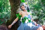 Fairy Miku elf cosplay