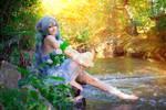 Fairy Miku elf cosplay by AnitramNoriko