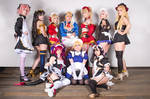 Chaldea Maid cosplay group