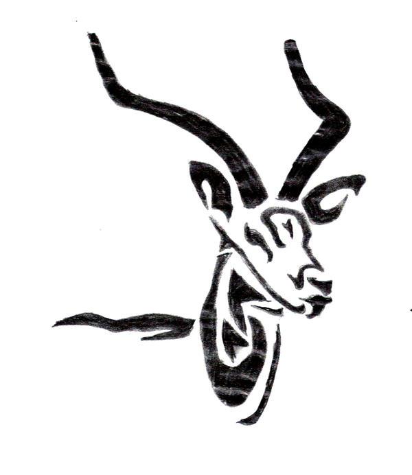 gazelle tribal by thodragonfire on deviantart. Black Bedroom Furniture Sets. Home Design Ideas