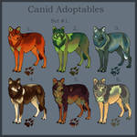 Canid adoptables Set. 1 CLOSED