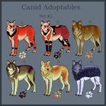 Canid adoptables Set.2 Open