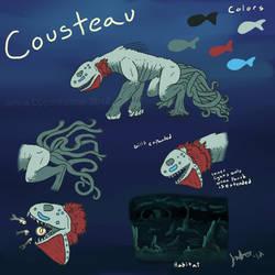 Cousteau ref sheet