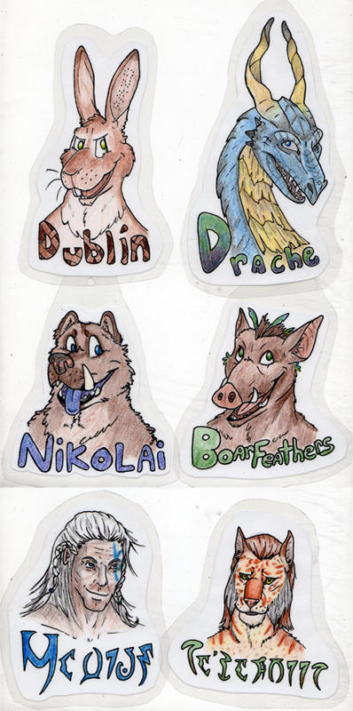 Emergency Badge Commission Examples