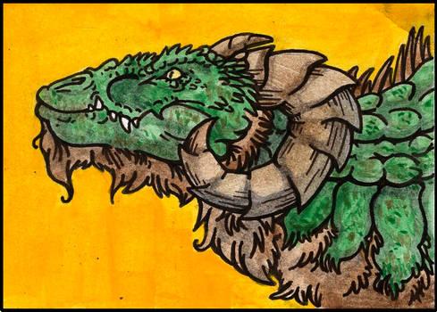 Dragon Aceo Collab