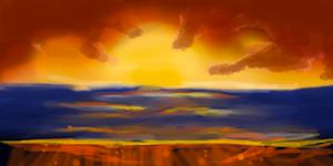 Sunset by BeautifulEscapsim
