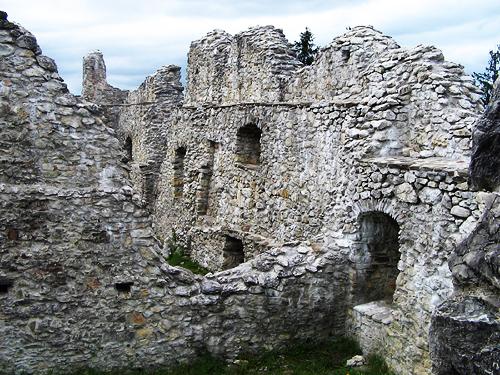 Castle Ruin 1 by miserydoll