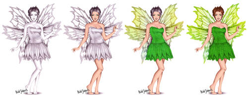 Classic Tinkerbell Character Progression