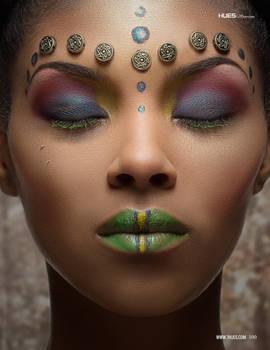 Tribal Princess for 7hues Mag