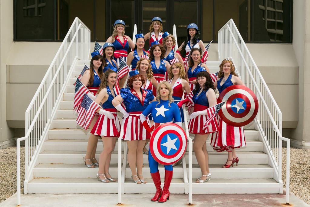 American Dream + USO Girls by kierivi