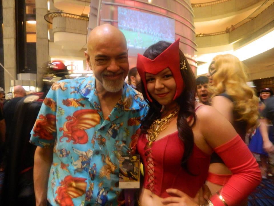 Avengers: Wanda + George Perez by kierivi