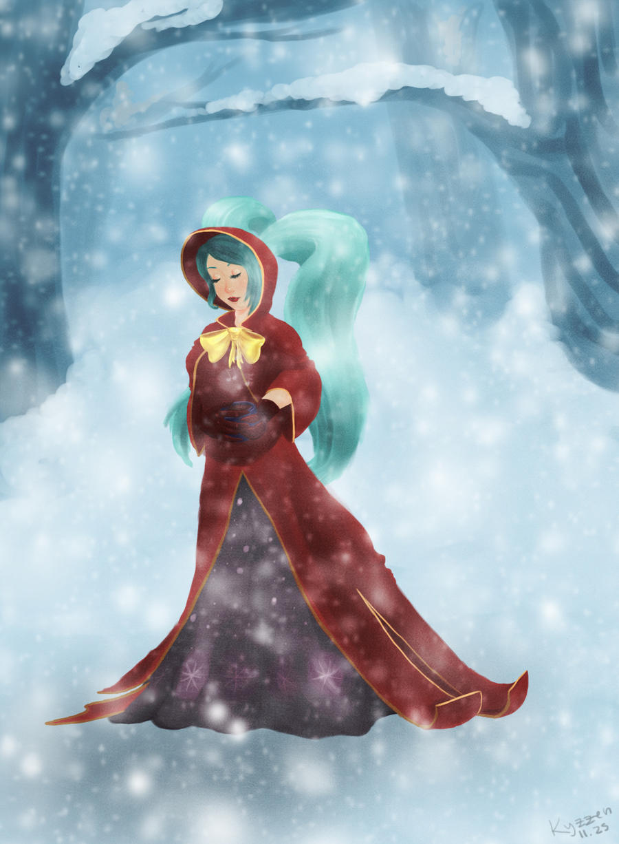 Silent Night Sona by Kyzzen