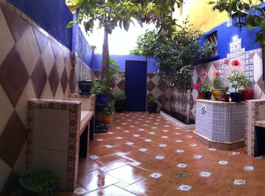 Patio estilo andaluz by sauco on deviantart - Patios con estilo ...