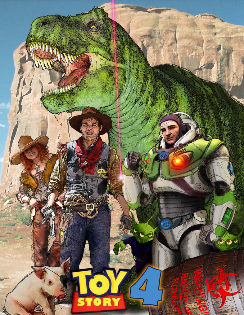 Toy Story 4 Toys : Toy story by katase on deviantart