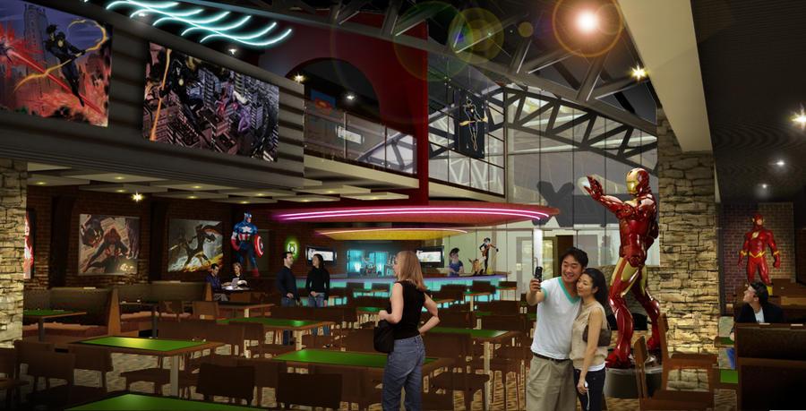 ComicX Restaurant - Nogales by Katase6626