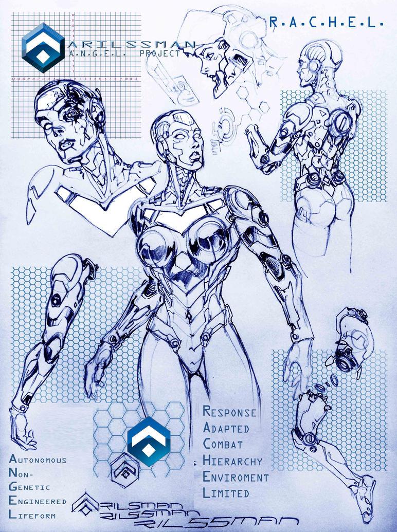 A.N.G.E.L. Project - RACHEL by Katase6626