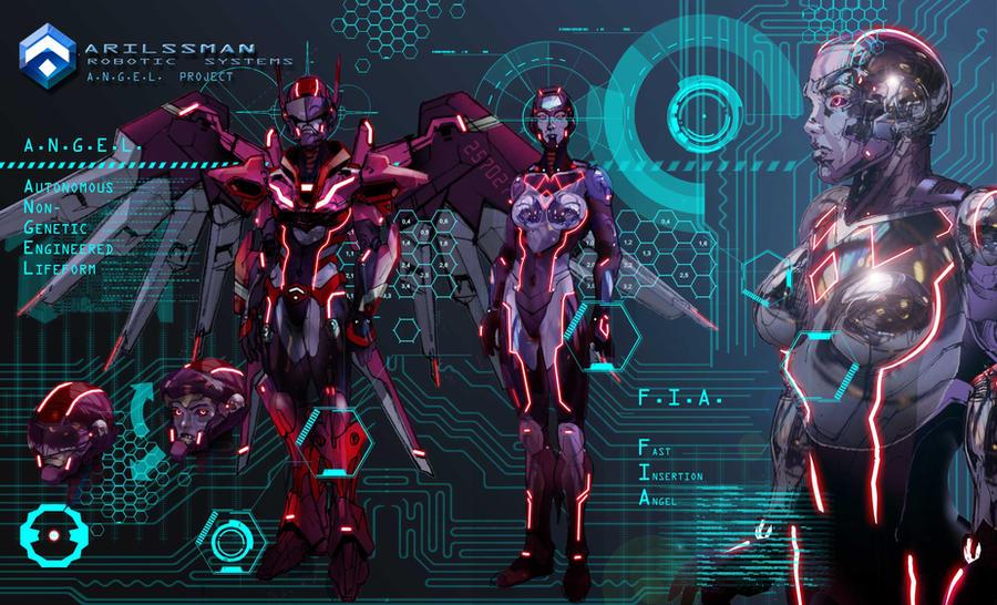 ARILSSMAN A.N.G.E.L.  Project - FIA by Katase6626