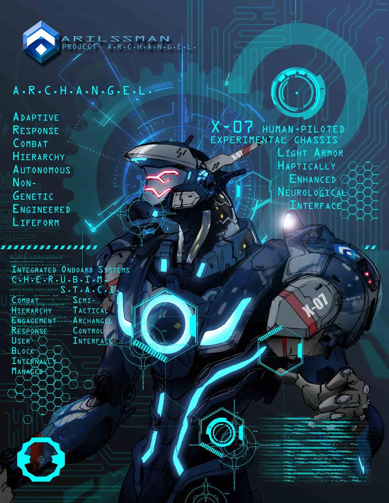 ARILSSMAN A.N.G.E.L.  Project - ARCHANGEL by Katase6626