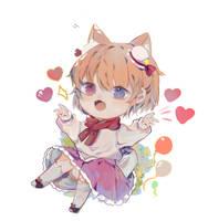 chibi | commission | cute character