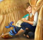 Newt Scamander and his Fantastic Beasts