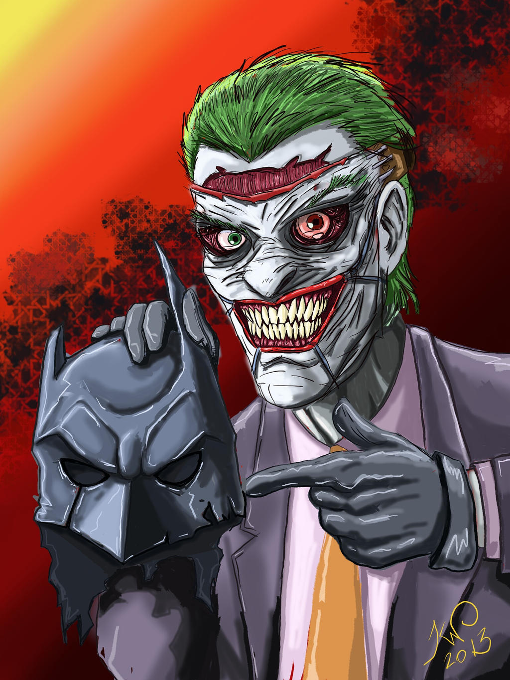 Joker - New 52 by ikarow on DeviantArtNew 52 Joker Wallpaper