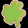 Four Leaf Clover Cookie by Rickasawr