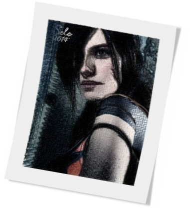 Claire Redfield Portrait 1 by TauterSele