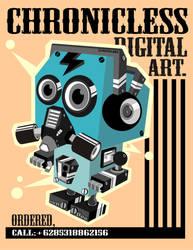 dcu robot by donkeycoverup
