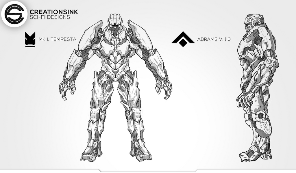 Sci-Fi Soldiers Design by AnsAmanat
