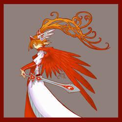 Red Angel by Mythka