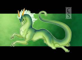 -Fern- Green Dragon by Mythka