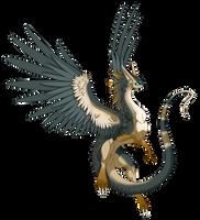 Custom -Whisperwing Dragon- by Mythka