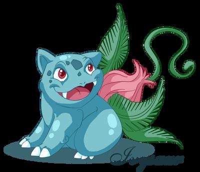 Ivysaur by Mythka