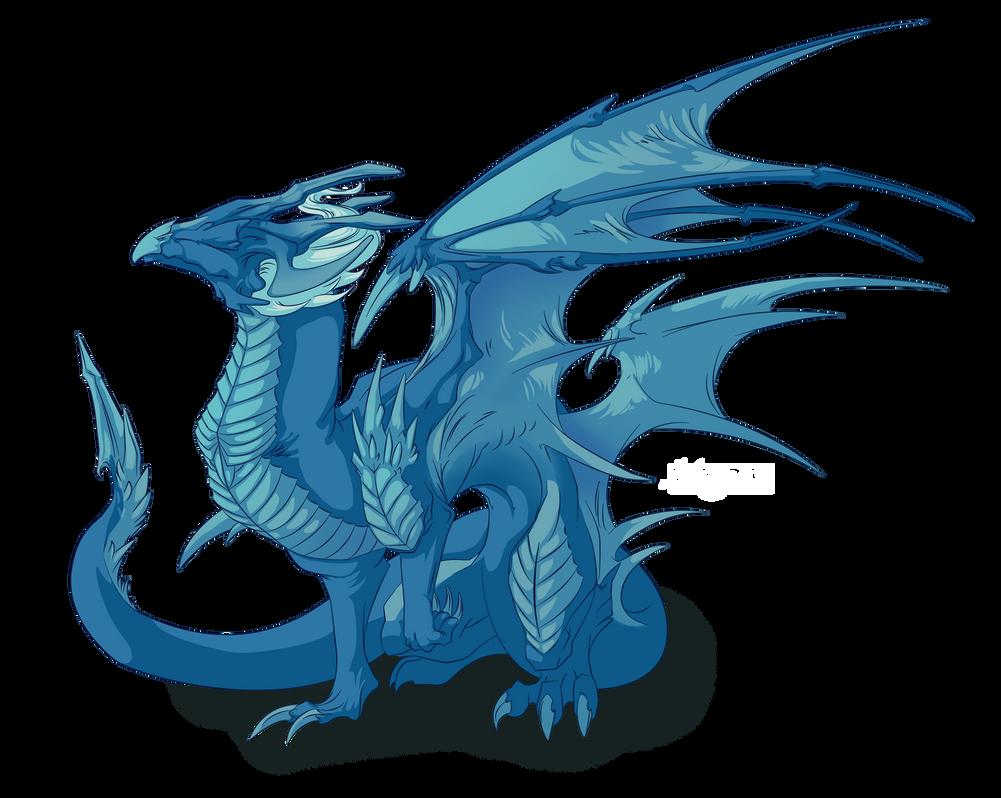Dragon #26 -Commission- by Mythka on DeviantArt