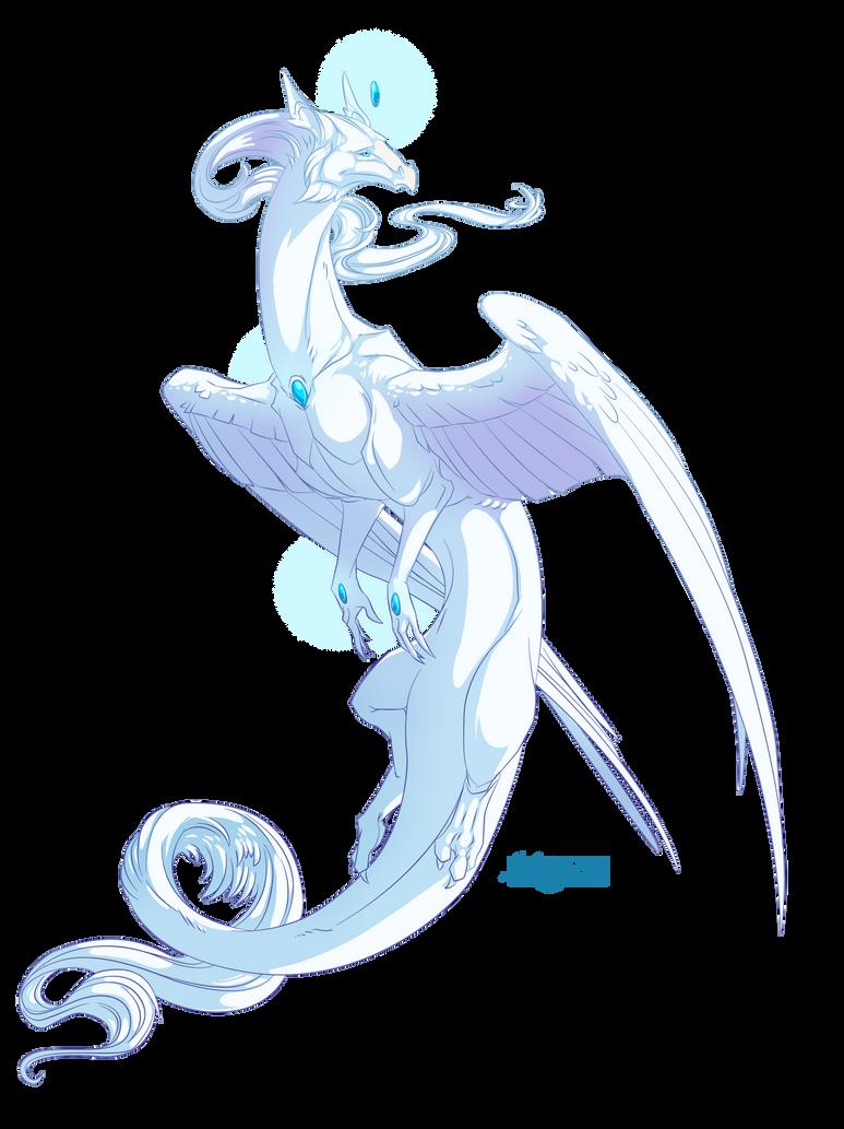 Dragon #28 -Commission- by Mythka