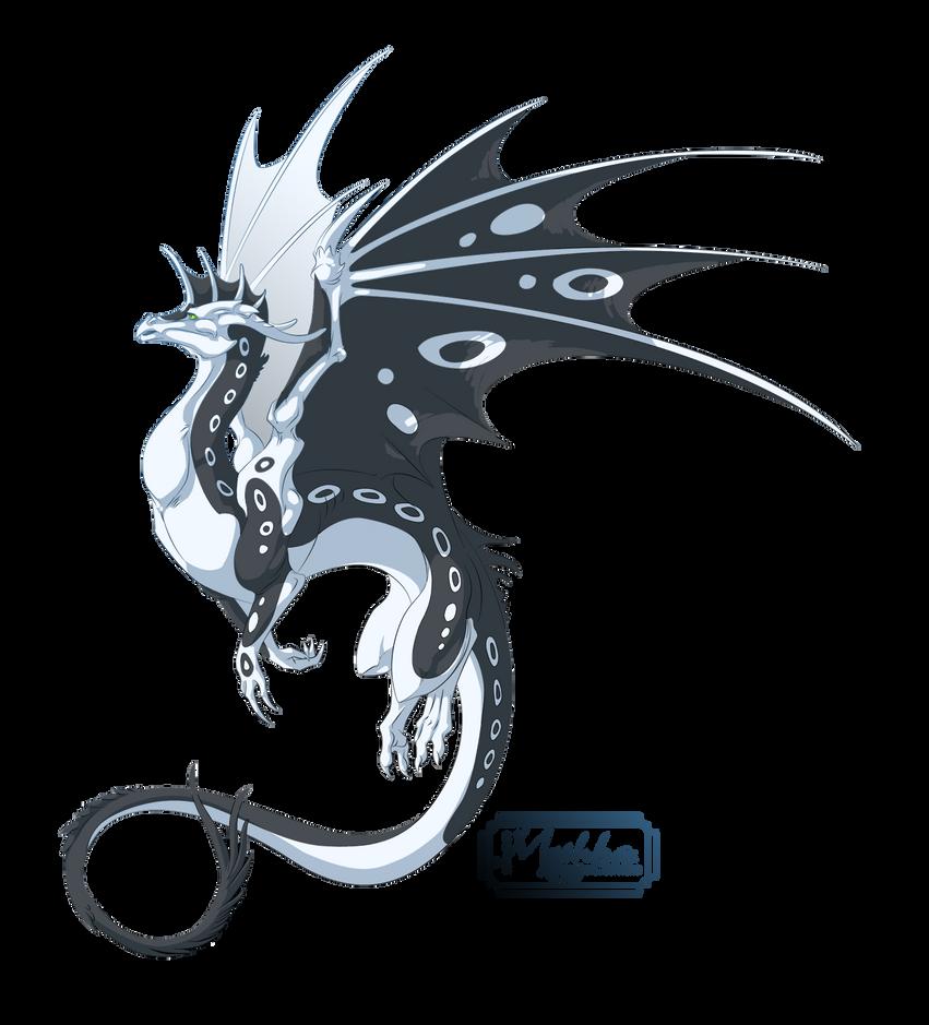Dragon #33 -Commission- by Mythka