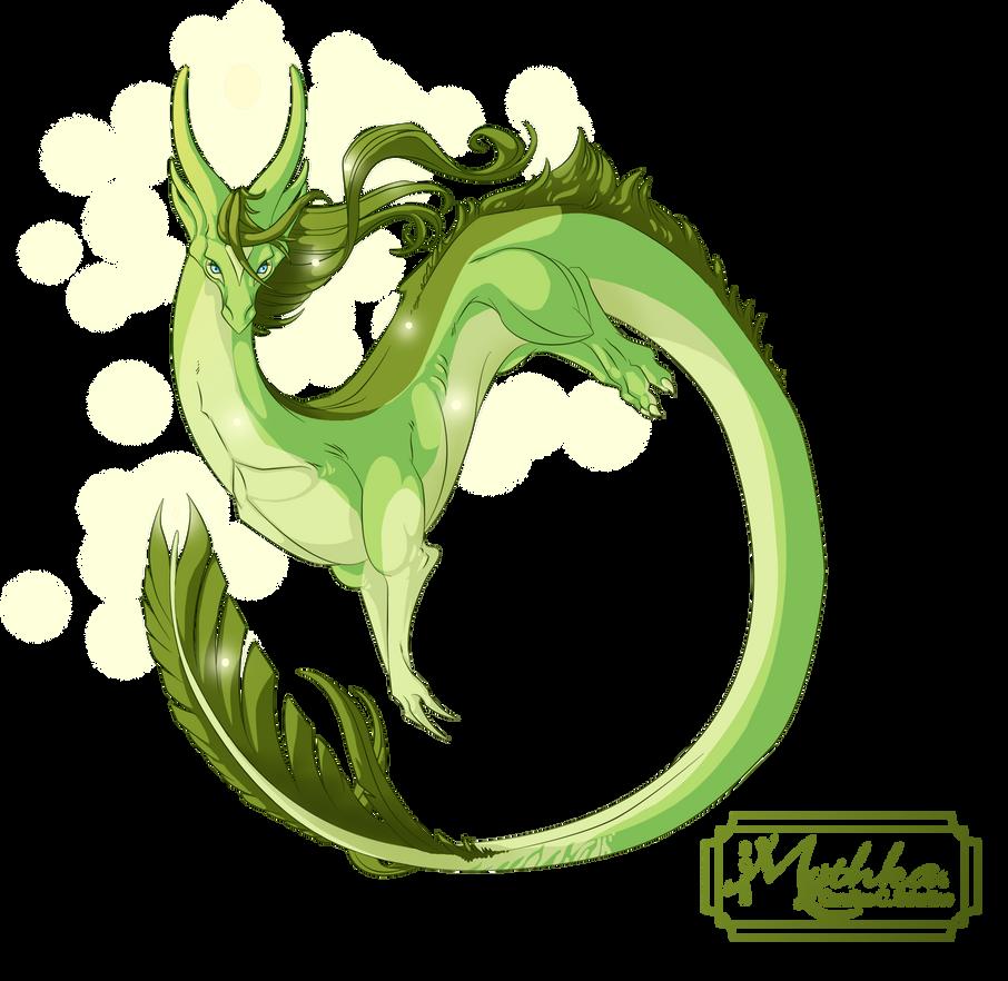 Dragon #35 -Commission- by Mythka