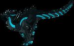 Dragon #37 -Gemstone Dragon Melanite Reference-