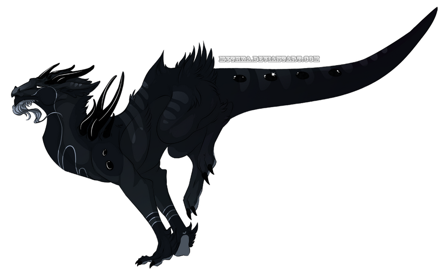 Gemstone Dragon Onyx -CUSTOM- by Mythka